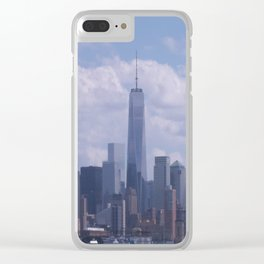 NY Cityscape Clear iPhone Case