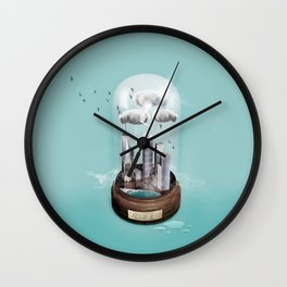 New York Dome Wall Clock