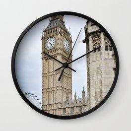 Ben and Eye Wall Clock
