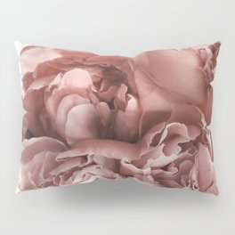 Blush Pink Floral Pillow Sham