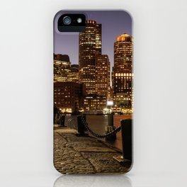The Lights of Boston pier iPhone Case