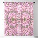 Pink and Green Alien Mandala Pattern by markuk97