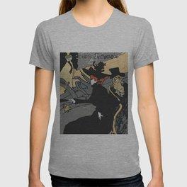 After Lautrec - Divan Japonais T-shirt