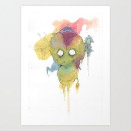 What My Mind Hides Art Print