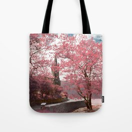 Lake shore Tote Bag