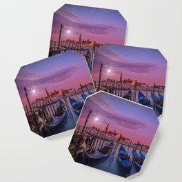 VENICE Gorgeous Sunset Coaster