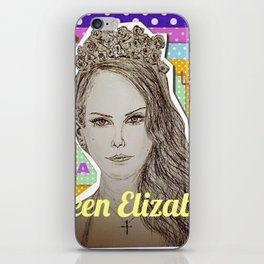 (Queen Elizabeth - Lana) - yks by ofs珊 iPhone Skin