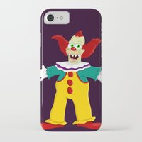 pennywise iPhone & iPod Cases featuring Krusty by Fransisqo82