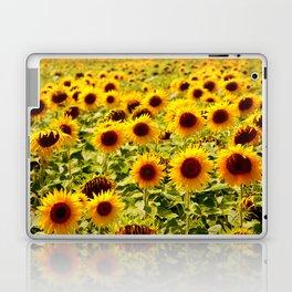 Sunflowers - Loire Valley, France Laptop & iPad Skin