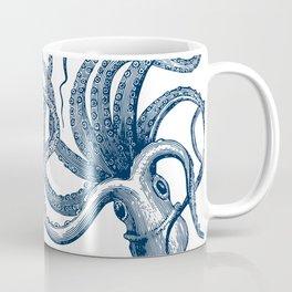 Octopus Navy Coffee Mug