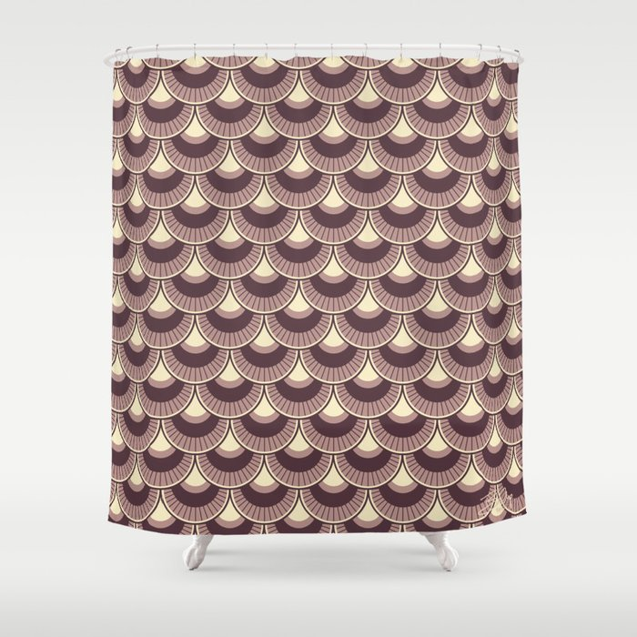 Koi Nobori Vintage Shower Curtain