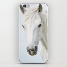 Pale Horse - Nature Photography iPhone Skin
