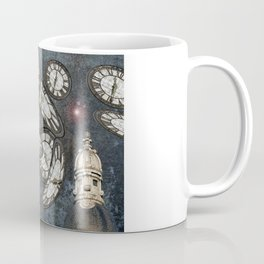 """Les gardiens du temps arrêté"" / ""The guardians of the time stopped"" Coffee Mug"