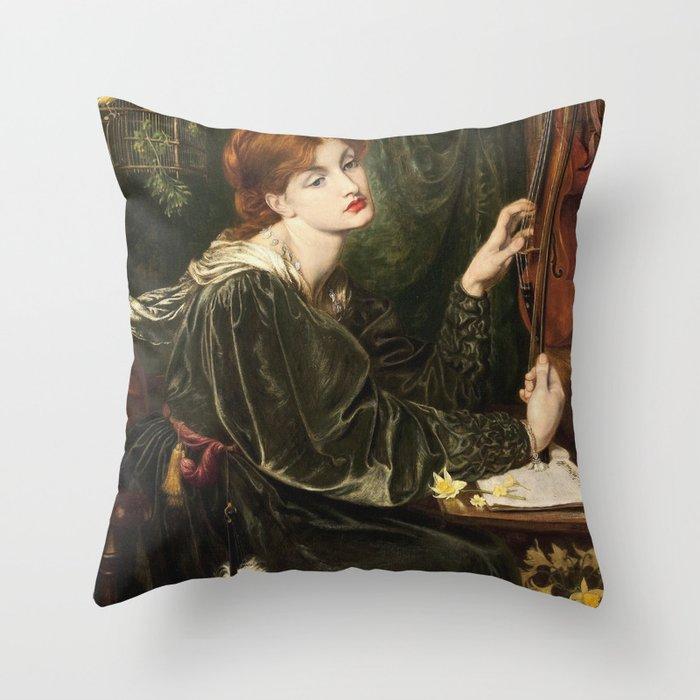 Dante Gabriel Rossetti - Veronica Veronese Deko-Kissen
