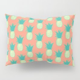 Pineapples (Persimmon orange) Pillow Sham