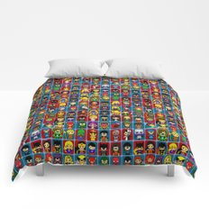 D C  comic collection Comforters