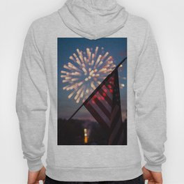 """""""And the rockets' red glare..."""" Hoody"""