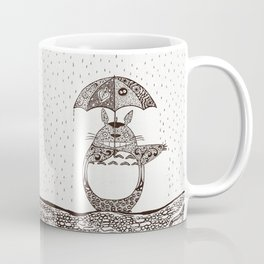 Happy Totoro Coffee Mug