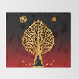 Bodhi Tree0402 Throw Blanket