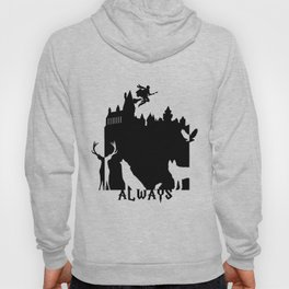 Potter clock and patronus group  Hoody
