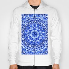 Blue Mandala Mehndi Style G403 Hoody