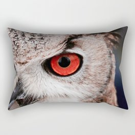 Wise eyes !! Rectangular Pillow