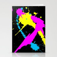 splatter Stationery Cards featuring Splatter by Spooky Dooky