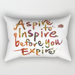 Morning Inspiration Rectangular Pillow