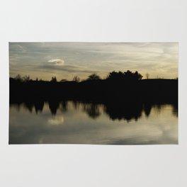 Reflective Sunset Rug