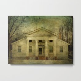 The Quick House Metal Print