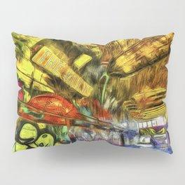 London Graffiti Van Gogh Pillow Sham