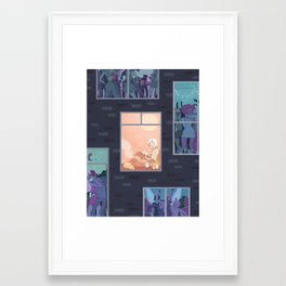 The Upside of Being an Introvert Framed Art Print