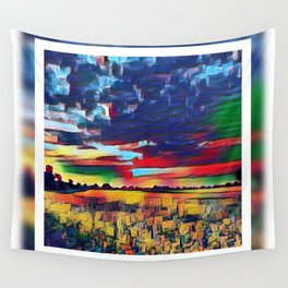 Landscape Abstract Wall Tapestry