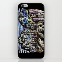 cities iPhone & iPod Skins featuring Cities by Kimmo Rantalainen