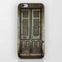 italian iPhone & iPod Skins featuring Italian Door III by Maria Heyens