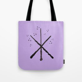 Wand Trio Purple Tote Bag