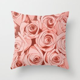 Looking for roses Throw Pillow