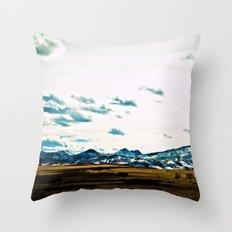 Go West Throw Pillow