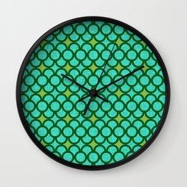 Dragon Scales Wall Clock