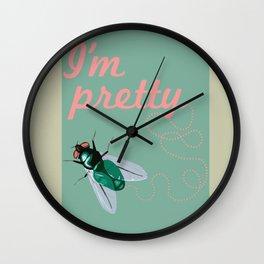 Pretty Fly Wall Clock