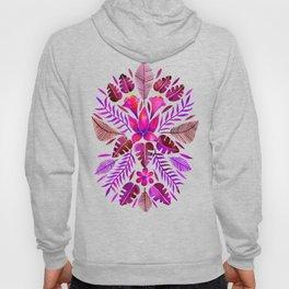 Tropical Symmetry – Magenta Hoody
