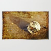 seashell Area & Throw Rugs featuring Seashell by Svetlana Sewell
