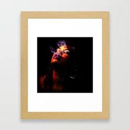 Smoking Framed Art Print