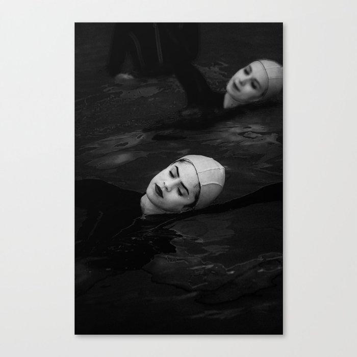 Water Study Canvas Print