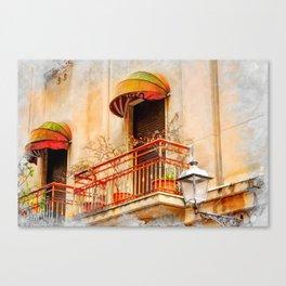 Trapani art 14 Sicily Canvas Print