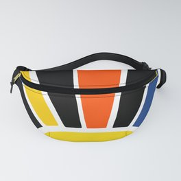 Midnight Sun Ray Burst Fanny Pack