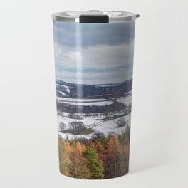 Muggleswick snow landscape Travel Mug