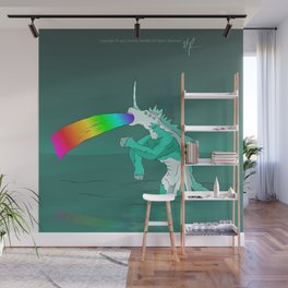 Rejected Kaiju #2 (Sea Horse or Unicorn or Seahorsicorn or whatever) Wall Mural