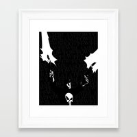 punisher Framed Art Prints featuring The Punisher by Rob O'Connor