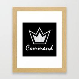 Crowned Framed Art Print